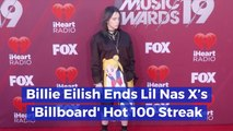 Billie Eilish Is On Top Of The Music Charts
