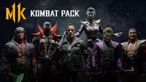 Mortal Kombat 11 Kombat Pack – Terminator, Joker, Spawn trailer
