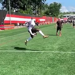 NFL - What a Catch by Odell Beckham Jr !