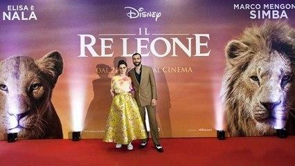 """Il Re Leone, Marco Mengoni ed Elisa: """"Far parte di questo film è una grande responsabilità'"""