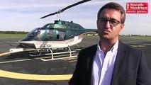 VIDEO. Poitiers : inspection des lignes de 20 000 volts en hélicoptère