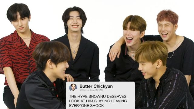 Monsta X Competes in a Compliment Battle