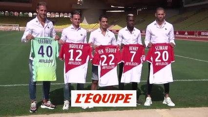 La présentation des recrues - Foot - L1 - Monaco