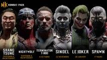 Mortal Kombat 11 - Bande-annonce du Kombat Pack