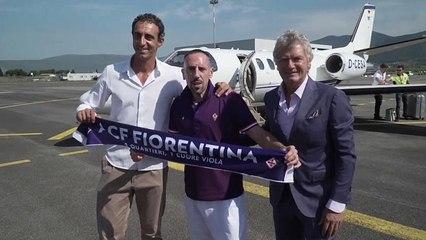 El jugador francés Franck Ribéry ficha por la Fiorentina