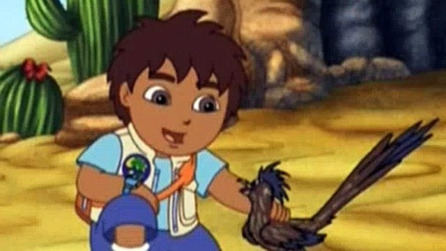 Go Diego Go S02E11 The Great Roadrunner Race