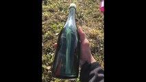 Une bouteille à la mer retrouvée après cinquante années de dérive