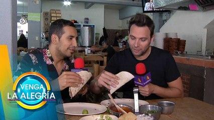 ¡El Capi quiere a sus tacos favoritos en el top de El Mejor Taco de México!   Venga La Alegría