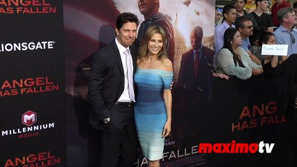 "Michael Trucco and Sandra Hess ""Angel Has Fallen"" World Premiere"