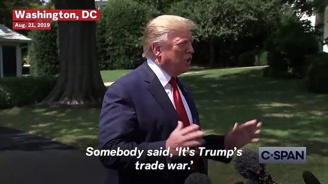 Watch: Trump Calls Himself 'The Chosen One' When Talking About China Trade War
