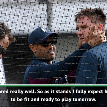 Root expects Roy to be fit for third Test