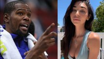 Kevin Durant SHOOTS HIS SHOT At New Teammate Kyrie Irving's Ex Boo Chantel Jeffries!