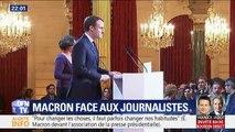 Gilets jaunes, Steve Maia Caniço, réformes... Ce qu'a dit Macron, hors caméras, aux journalistes
