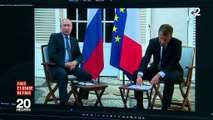 Rencontre Macron-Poutine : les propos du président russe ont-ils été tronqués par la traduction ?