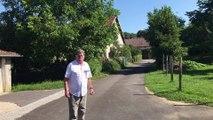 """""""Il y avait 1 mètre d'eau au centre du village"""" se souvient Roland Thierry, maire de Beutal (25)"""