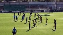 El Betis Trabaja en la Ciudad Deportiva Pensando en su Visita al Barcelona