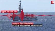 Italie: Les migrants de l'Open Arms débarquent à Lampedusa