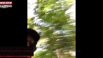Guillaume Canet : sa brusque chute à vélo amuse les internautes (vidéo)