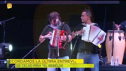 Recordamos la última entrevista de Celso Piña.   Ventaneando