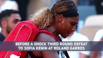 Serena Williams - a tumultuous year