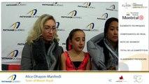 Championnats québécois d'été 2019 présenté par Kloda Focus, Juvénile Dames moins de 14 ans, gr. 3