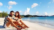 Anushka Sharma & Virat Kohli enjoy romantic beach date in West Indies; Check out | FilmiBeat