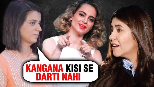 Kangana Ranaut And Ekta Kapoor's UGLY FIGHT?   Rangoli Chandel REACTS
