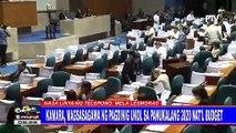 Kamara, magsasagawa ng pagdinig ukol sa panukalang 2020 nat'l budget