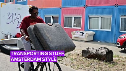 Master the Bike with an Amsterdammer: Transporting Goods