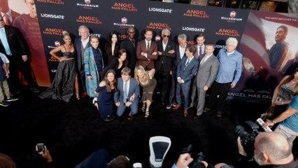 "Gerard Butler, Morgan Freeman, Jada Pinkett Smith ""Angel Has Fallen"" World Premiere in 4K"