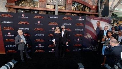 """Morgan Freeman """"Angel Has Fallen"""" World Premiere in 4K"""