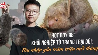 Khởi nghiệp với trang trại nuôi dúi Sài Gòn: Sinh viên 9x thu nhập hàng 50 triệu mỗi tháng - Làm giàu không khó?!!