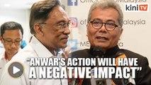 Redzuan takes on Anwar over Lynas