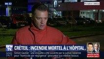"""L'activité de l'hôpital Henri-Mondor à Créteil """"n'est pas touchée"""" par l'incendie d'un bâtiment annexe"""