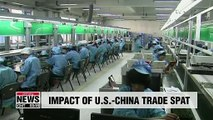 On-going U.S.-China trade spat hurting both economies