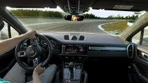 The Porsche Cayenne Turbo S E-Hybrid sets an unusual lap record