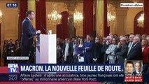 Réforme des retraites, diplomatie, G7... Ce qu'a dit Emmanuel Macron aux journalistes hors micro et caméra