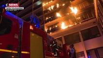 Créteil : un mort et huit blessés dans un violent incendie près de l'hôpital Henri Mondor