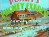 """Classic Cartoons - Porky Pig - """"Porky-s Phoney Express """" (1938; Colorized)"""