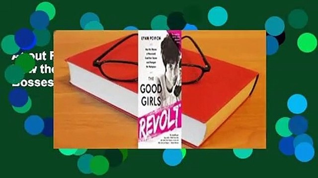 About For Books  The Good Girls Revolt: How the Women of Newsweek Sued their Bosses and Changed