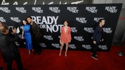 """Hanneke Talbot """"Ready or Not"""" LA Premiere Red Carpet in 4K"""