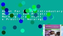 About For Books  Introductory Maternity and Pediatric Nursing (Lippincott s Practical Nursing)