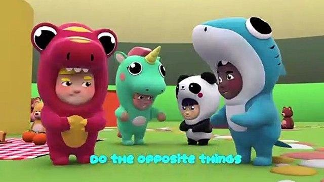 Learn The Opposite Song One Zeez Nursery Rhymes Children Music Karaoke===)(