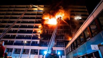 Incendie mortel à l'hôpital Henri-Mondor de Créteil