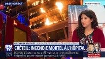 Créteil: un incendie mortel s'est déclenché à l'hôpital