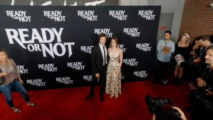 """Adam Brody and Leighton Meester """"Ready or Not"""" LA Premiere Red Carpet in 4K"""