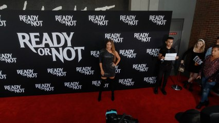 """LeeAnne Locken """"Ready or Not"""" LA Premiere Red Carpet in 4K"""
