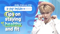 [Pops in Seoul] Felix(필릭스, Stray Kids)'s Tips on staying healthy and fit !