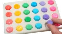 DIY How To Make Colors Mini Dot Milk Gummy Jelly Recipe