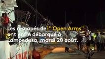 """En pleine Méditerranée, la longue attente des rescapés de l'""""Ocean Viking"""""""